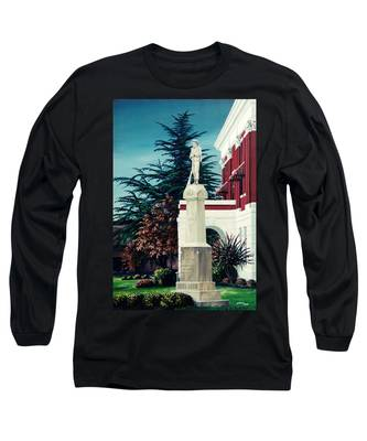 White County Courthouse - Civil War Memorial Long Sleeve T-Shirt