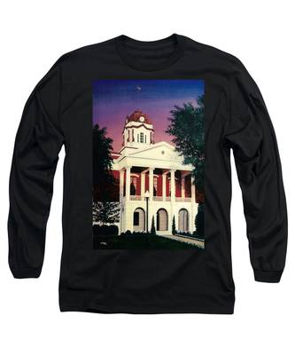 White County Courthouse Long Sleeve T-Shirt