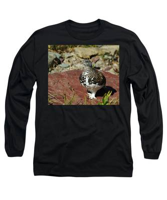 White-tailed Ptarmigan Long Sleeve T-Shirt