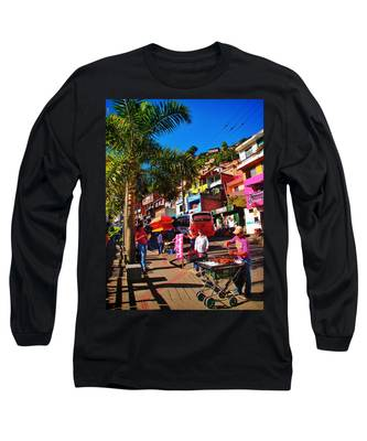 Long Sleeve T-Shirt featuring the photograph Candy Man by Skip Hunt