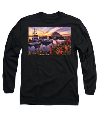 Beautiful Morro Bay Long Sleeve T-Shirt