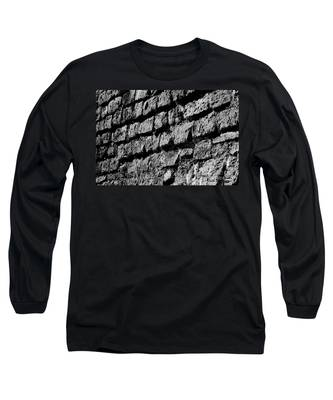 Black Wall Long Sleeve T-Shirt
