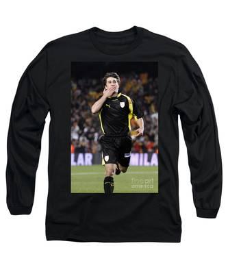Bojan Krkic Celebrating A Goal 2 Long Sleeve T-Shirt