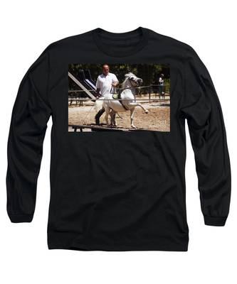 Horse Training Long Sleeve T-Shirt