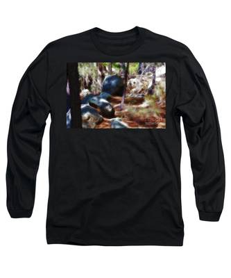 Incinerator Ridge Fractal Long Sleeve T-Shirt