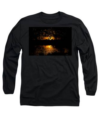 Scary Sunset Long Sleeve T-Shirt