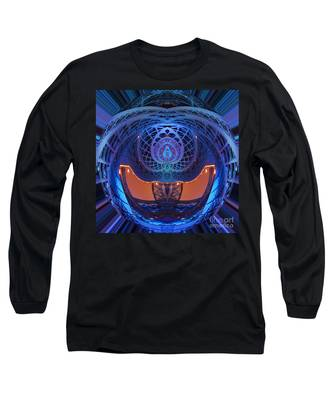 Spirograph Planet Long Sleeve T-Shirt