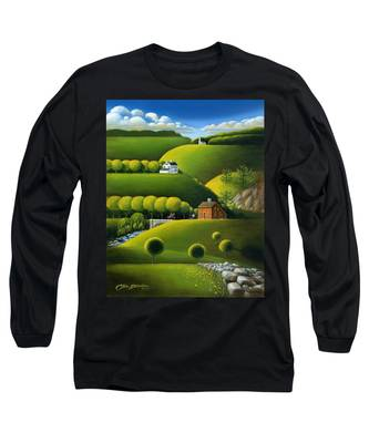 Foothills Of The Berkshires Long Sleeve T-Shirt