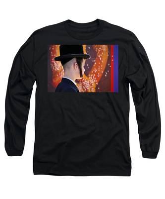 Pretzel Logic Long Sleeve T-Shirt by Skip Hunt