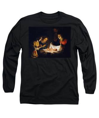 Adoration Of The Child Long Sleeve T-Shirt