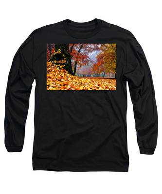 Autumn In The Woodland Long Sleeve T-Shirt