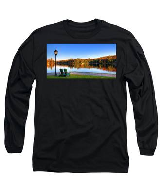 Autumn View For Two Long Sleeve T-Shirt