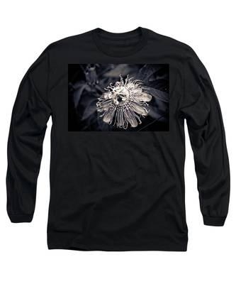Clematis Flower Bloom Long Sleeve T-Shirt