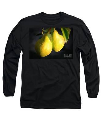 Backyard Garden Series - Two Pears Long Sleeve T-Shirt