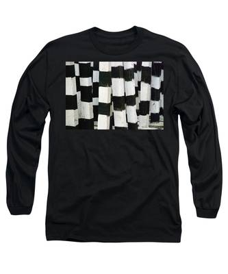 Long Sleeve T-Shirt featuring the photograph Blanco Y Negro by Skip Hunt
