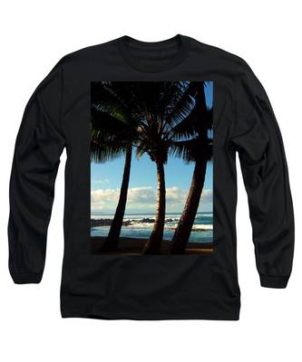 Blue Palms Long Sleeve T-Shirt