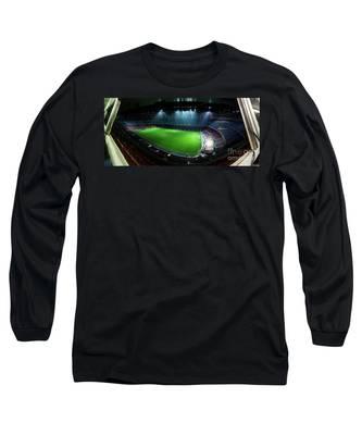 Camp Nou At Night Long Sleeve T-Shirt