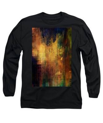 Castle View Planet Pixel Long Sleeve T-Shirt