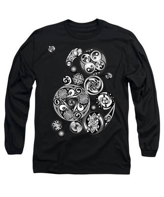 Celtic Clockwork Long Sleeve T-Shirt