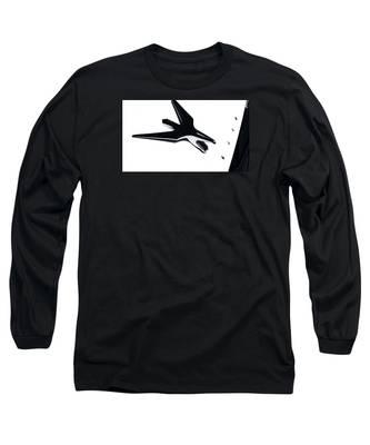 Chrysler Eagle Mascot Long Sleeve T-Shirt
