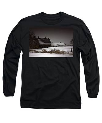 Cold Winter Night Long Sleeve T-Shirt