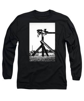 Crissy Field Iron Scuplure Long Sleeve T-Shirt