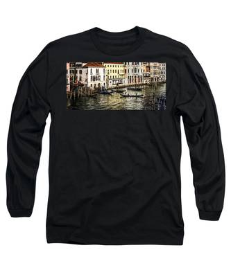 Crossing The Canal Long Sleeve T-Shirt
