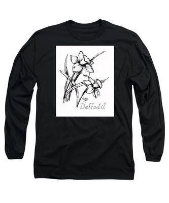 Delightful Daffodils Long Sleeve T-Shirt