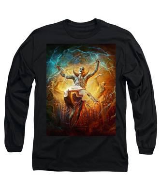 Evil God Long Sleeve T-Shirt