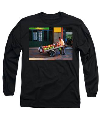 Long Sleeve T-Shirt featuring the photograph Fruta Limpia by Skip Hunt