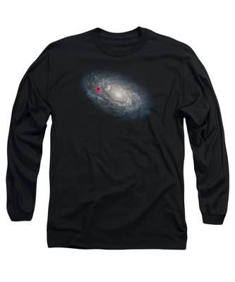 Violet Long Sleeve T-Shirts