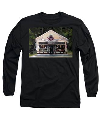 Granville Country Store Front View Long Sleeve T-Shirt