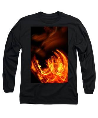 Heavenly Flame Long Sleeve T-Shirt