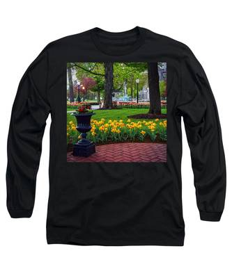 Hudson Falls...a Great Place To Call Home Long Sleeve T-Shirt