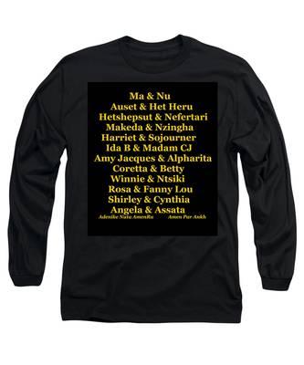 Kandaki Ma Long Sleeve T-Shirt
