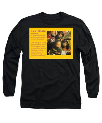 Les Izmore Feminism Long Sleeve T-Shirt