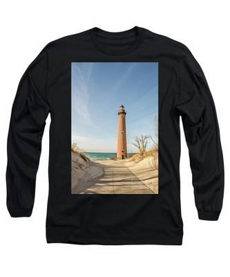 Little Sable Point Lighthouse Long Sleeve T-Shirt