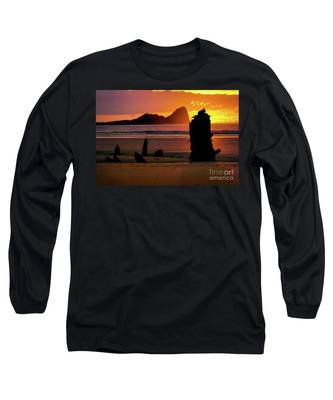 Llangennith Helvetia Wreck 2016 Long Sleeve T-Shirt