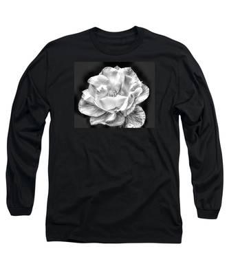 Midnight Rose Long Sleeve T-Shirt