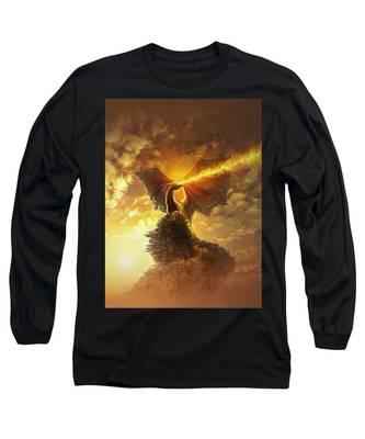 Mighty Dragon Long Sleeve T-Shirt