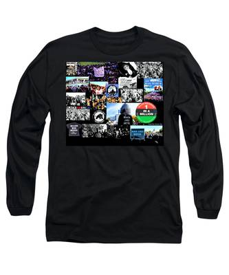 Million Man March Montage Long Sleeve T-Shirt