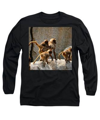 Stone Long Sleeve T-Shirts