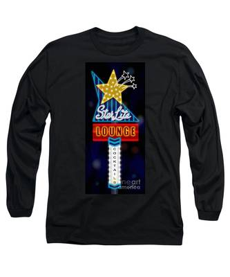 Nightclub Sign Starlite Lounge Long Sleeve T-Shirt
