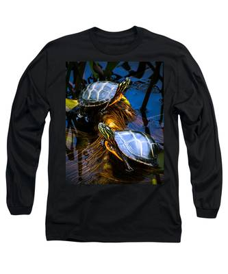 Passing The Day With A Friend Long Sleeve T-Shirt