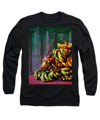 Long Sleeve T-Shirt featuring the photograph Patacon by Skip Hunt