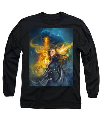 Portal Magician Long Sleeve T-Shirt