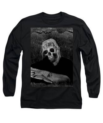 Portrait Of A Zombie Long Sleeve T-Shirt