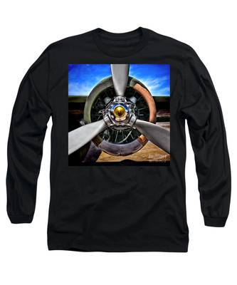 Propeller Art   Long Sleeve T-Shirt