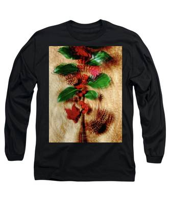 Red Holly Spinning Long Sleeve T-Shirt