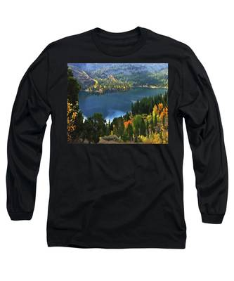 Rock Creek Lake In Fall Long Sleeve T-Shirt